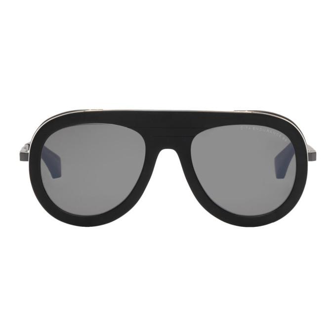 DITA Dita Black Matte Endurance 88 Sunglasses in Mat.Blk/Blk