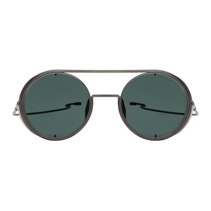 DITA Dita Gunmetal Boris Bidjan Saberi Edition Sunglasses in Charcoal