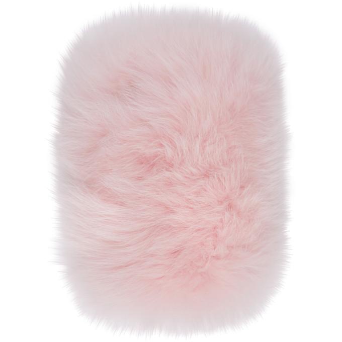 Fox Fur Iphone 7 Case in Pink