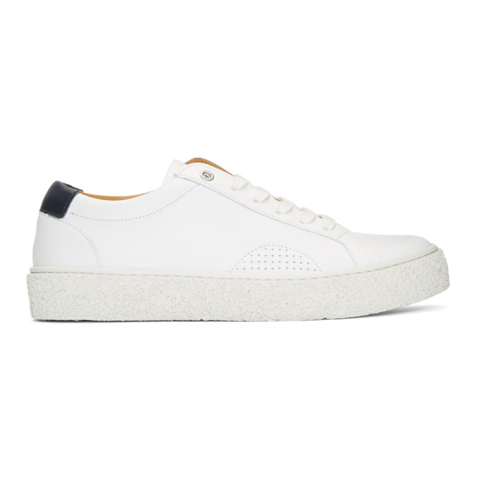 White and Navy DAP 1 Sneakers Ymc You Must Create