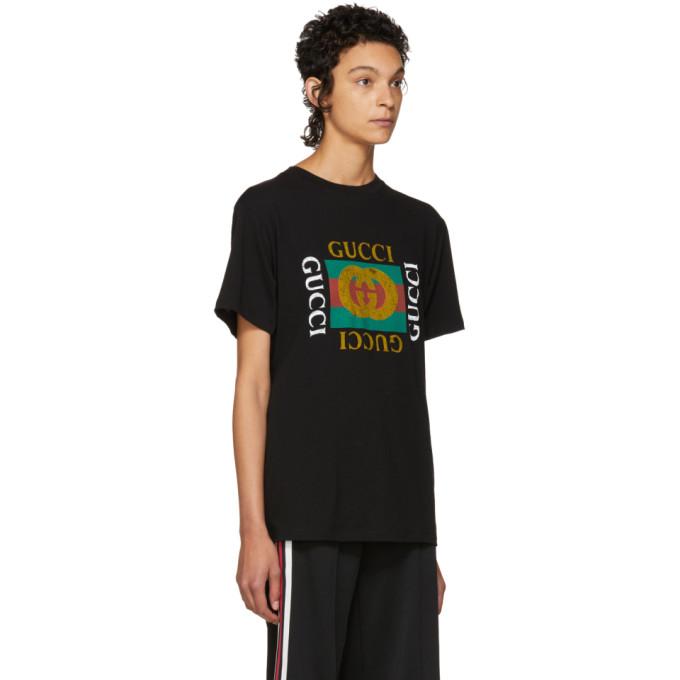 d41fad85d8b Gucci Black Tiger Logo T-Shirt In 1948 Black