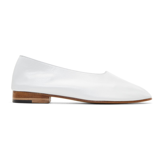 MARTINIANO Glove Leather Flas in White