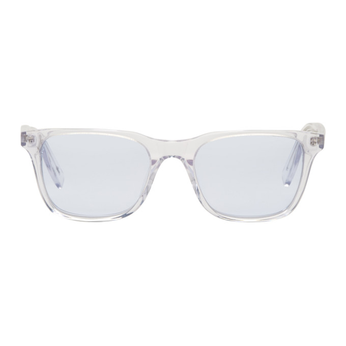 ALL IN TRANSPARENT AND BLUE YORK SUNGLASSES