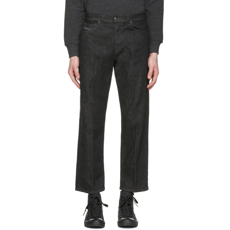 Black Khiko Jeans by Diesel
