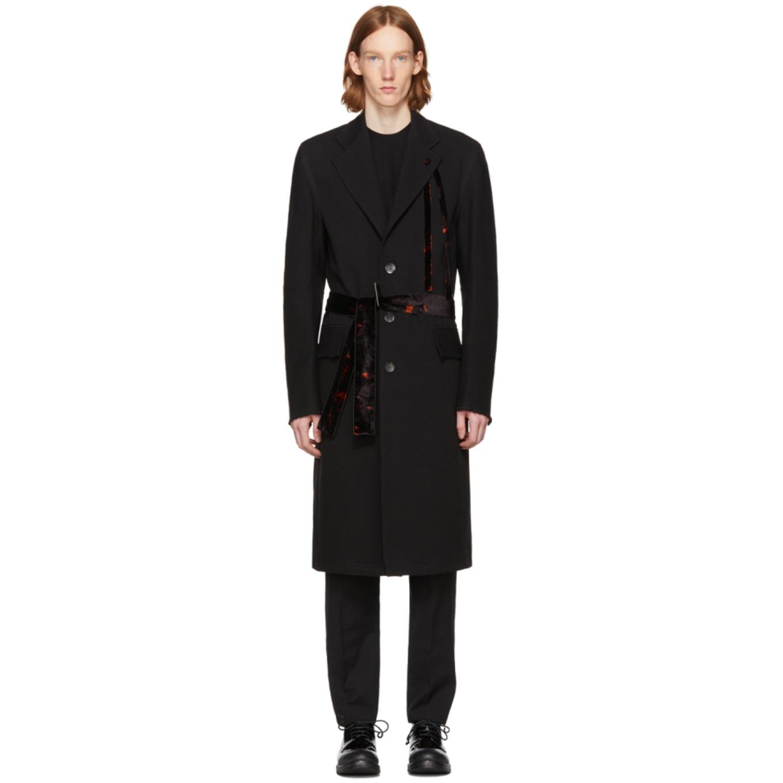 Black Covi Coat by Damir Doma