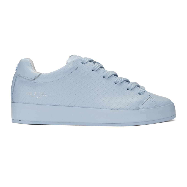 Blue Perforated Low Sneakers Rag & Bone