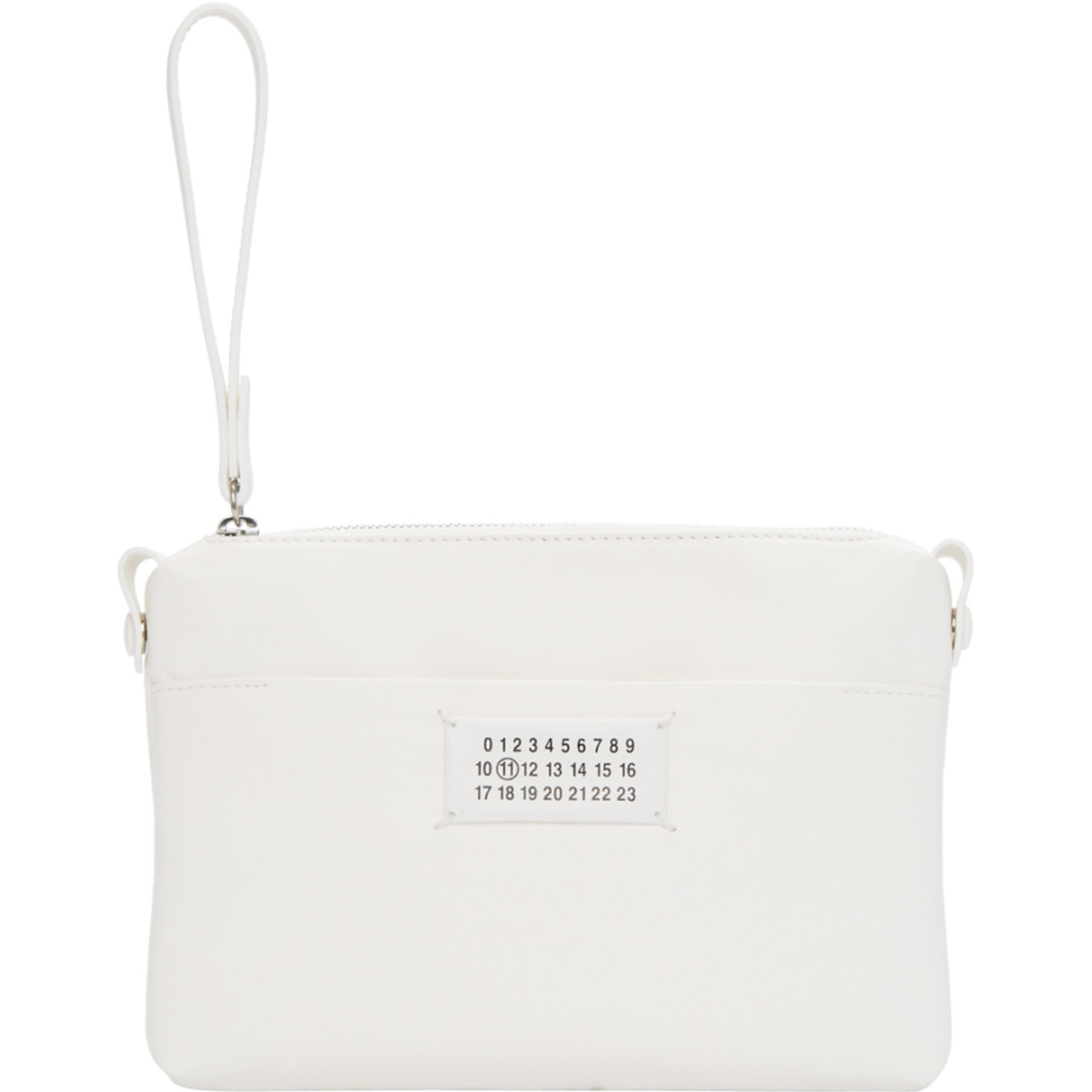 White Small Pouch by Maison Margiela