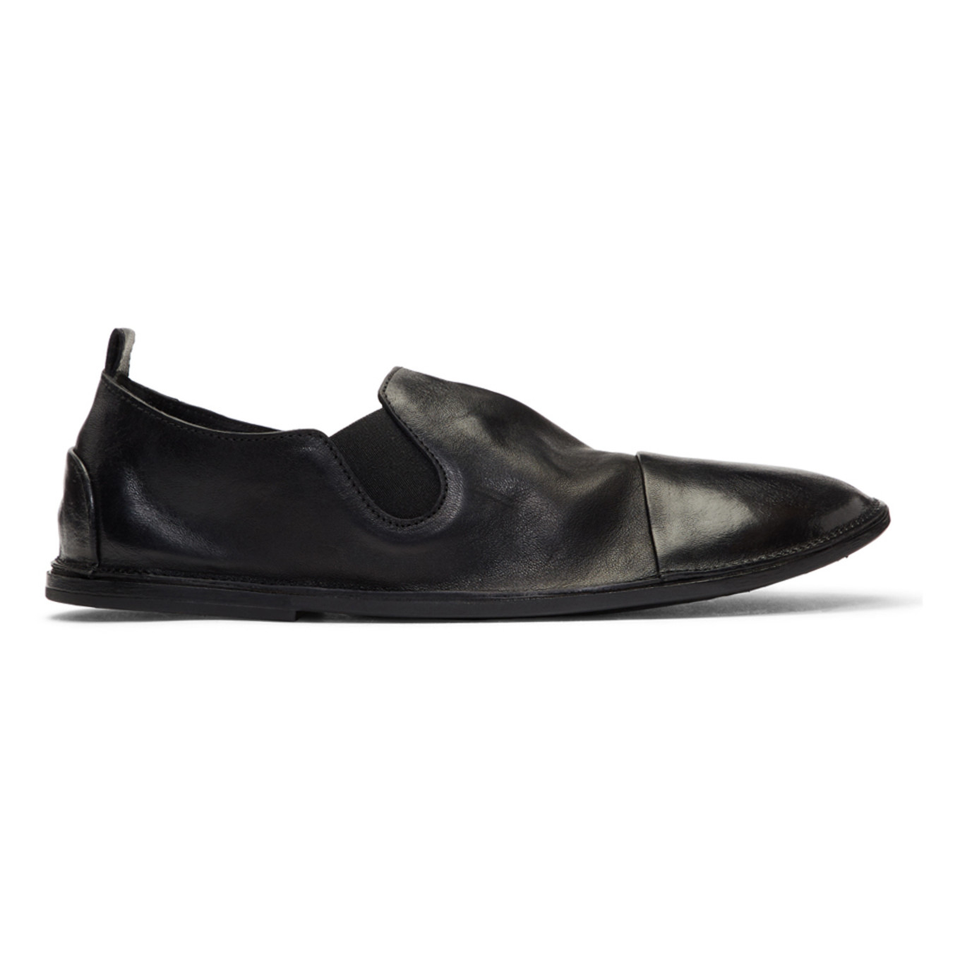 Black Strasacco Loafers by MarsÈll