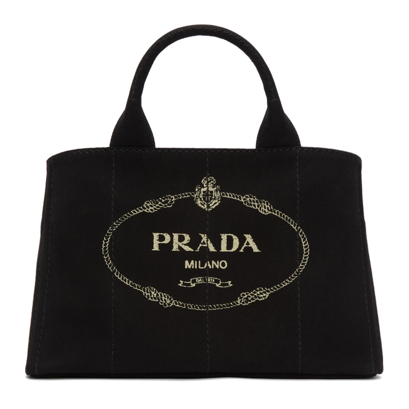 c28834f6a65d black-large-gardener-tote by prada