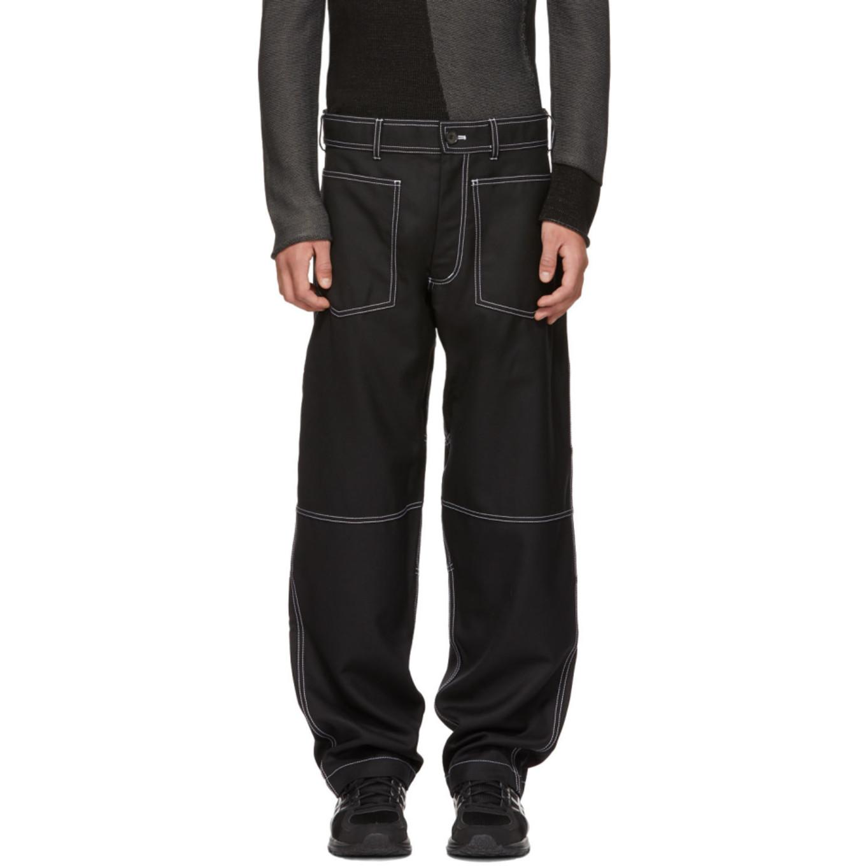 Pantalon Noir Workstitch by Comme Des GarÇons Shirt