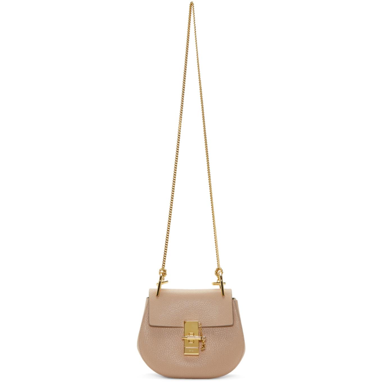 Pink Mini Drew Bag by ChloÉ