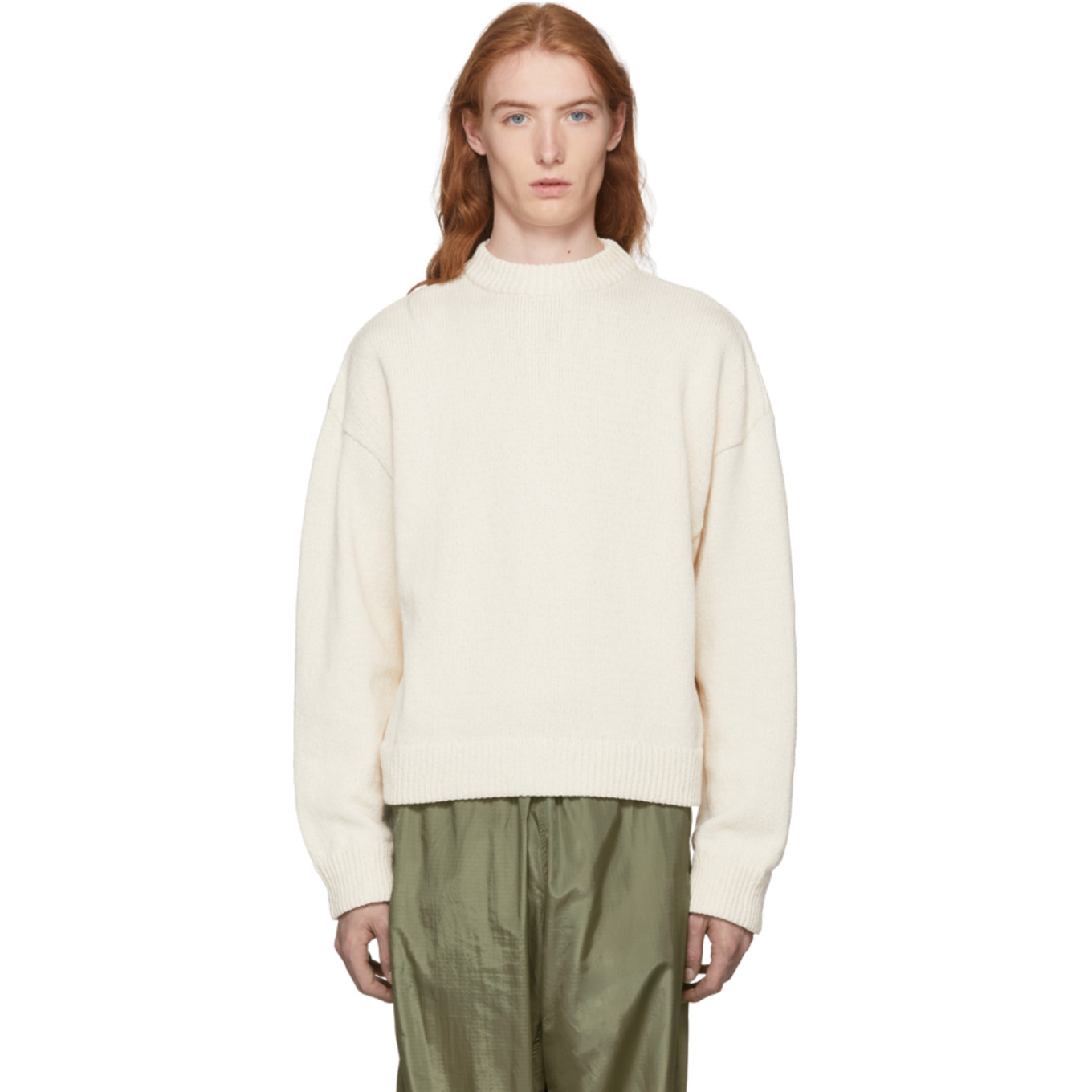 Off White Sonar Roundneck Sweater by Our Legacy
