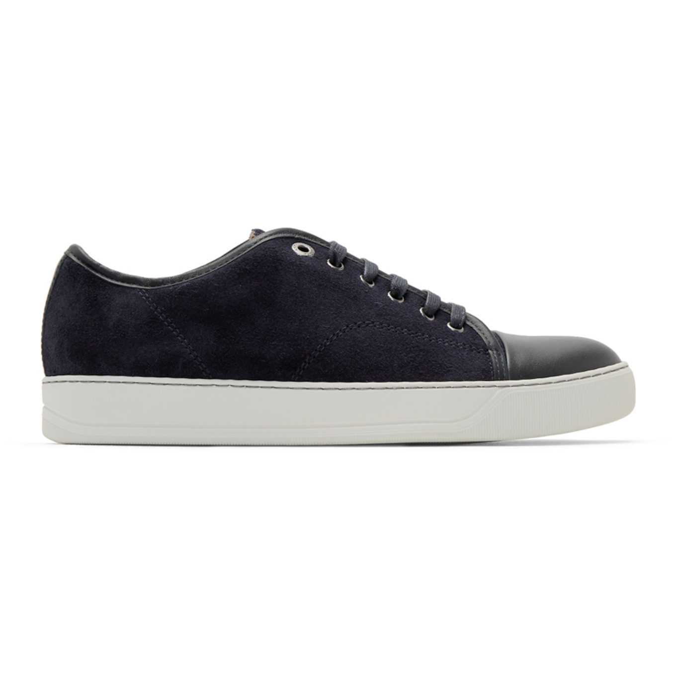 Blue Suede Sneakers by Lanvin