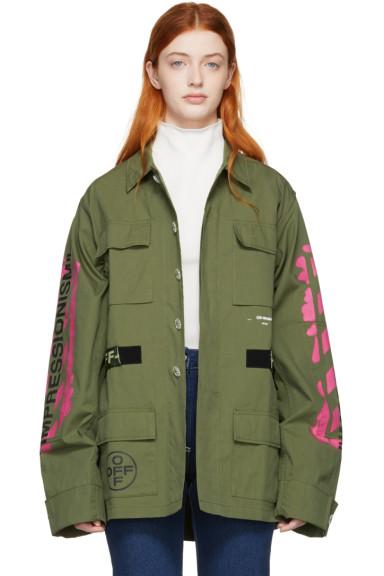 Off-White - Khaki Field Jacket