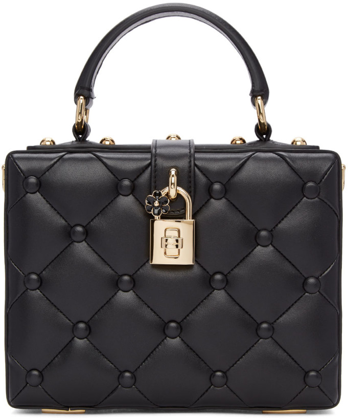 Dolce & Gabbana Black Dolce Box Bag