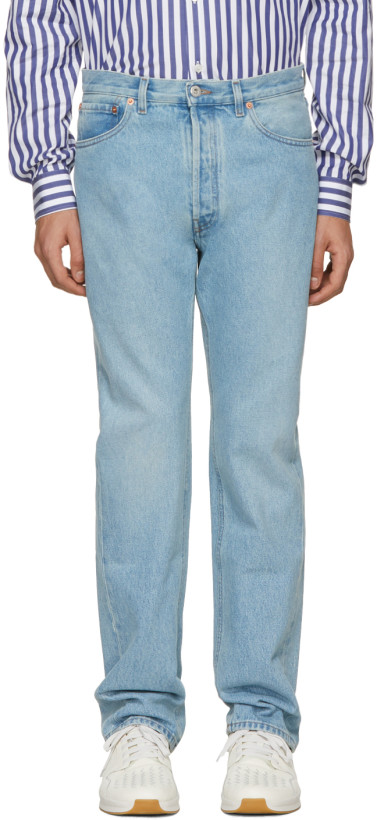 Valentino Blue 505 Fit Jeans