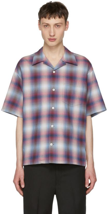N.Hoolywood Red Check Shirt