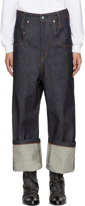 Wheir Bobson Blue Big Details Jeans