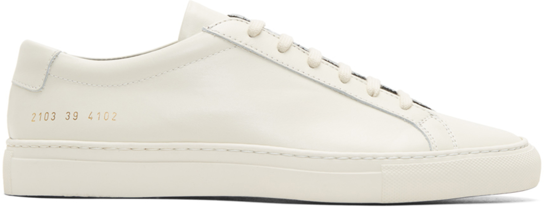 Common Projects Off-White Achilles Low Duo-Tone Sneakers