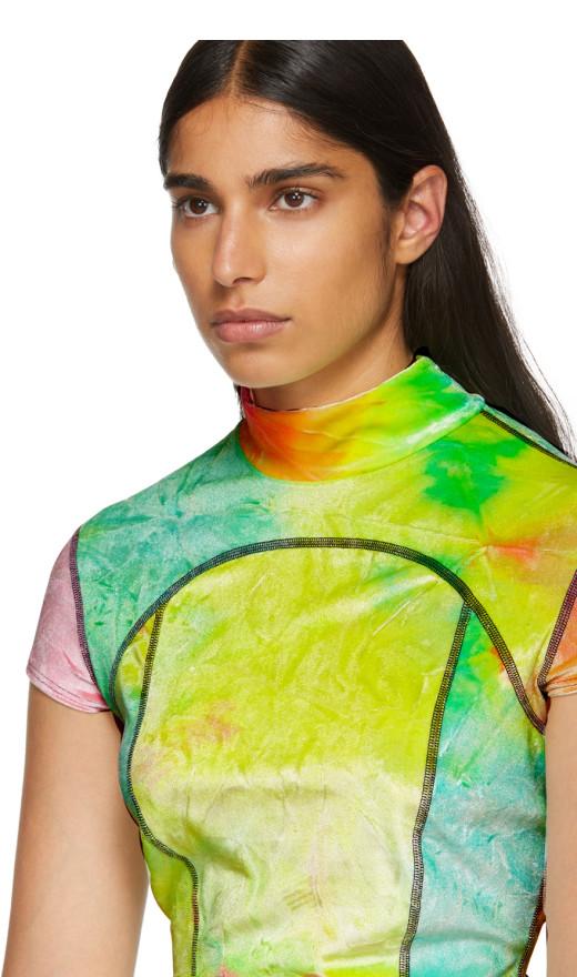Eckhaus Latta - Multicolor Velvet Sport T Shirt