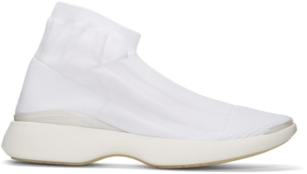 Marsèll SSENSE Exclusive Grey Batilda Sneakers