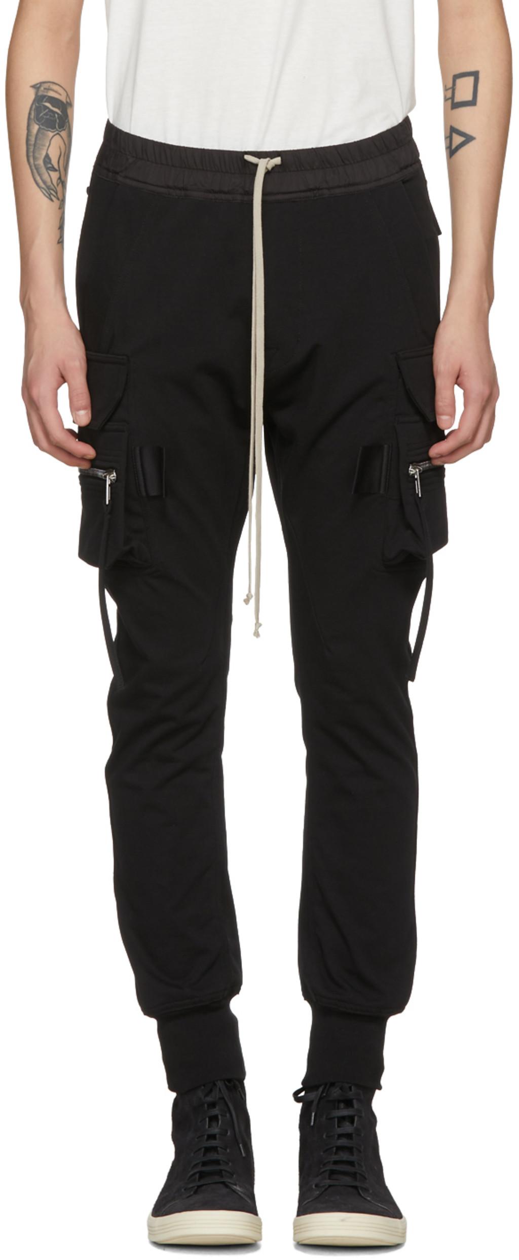 Rick Owens cargo trousers 2018 Newest e8Hh5kQKPE