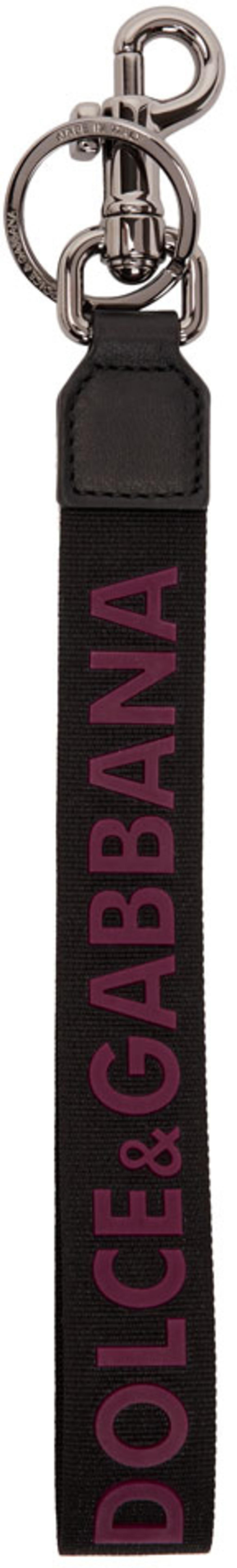 |Dolce & Gabbana|ブラック クラウン & ハート ポーチ