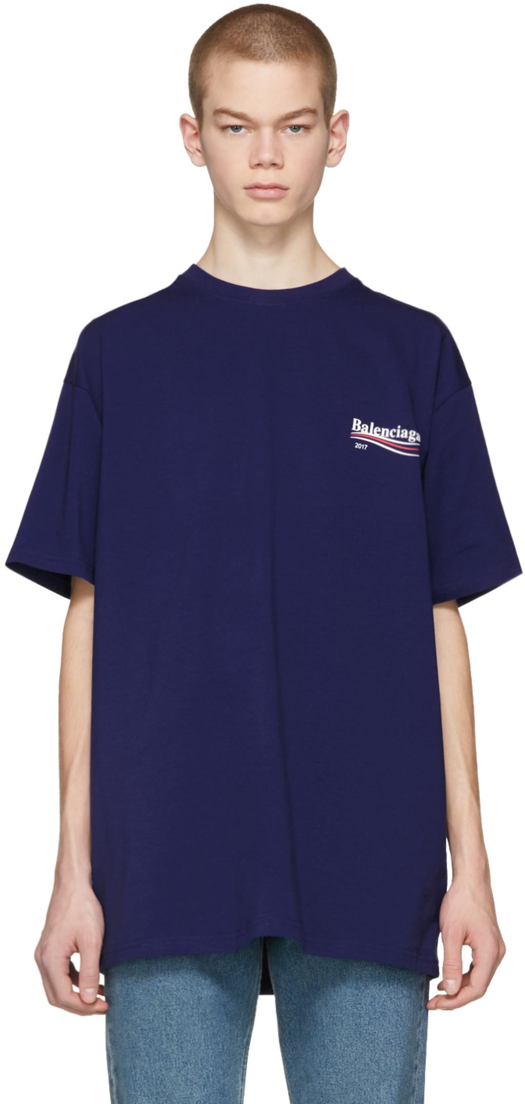 balenciaga t shirt mens 2017