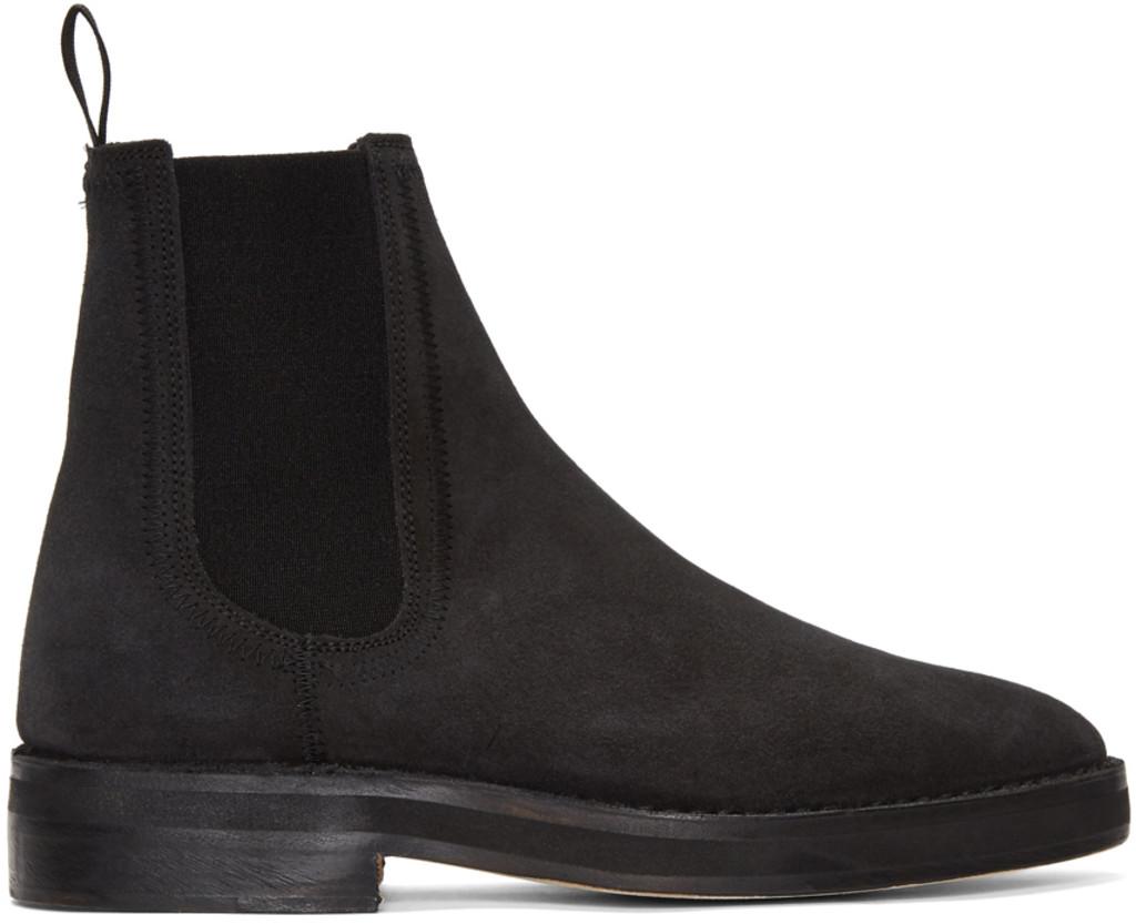 Prada Black CB3 Chelsea Boots