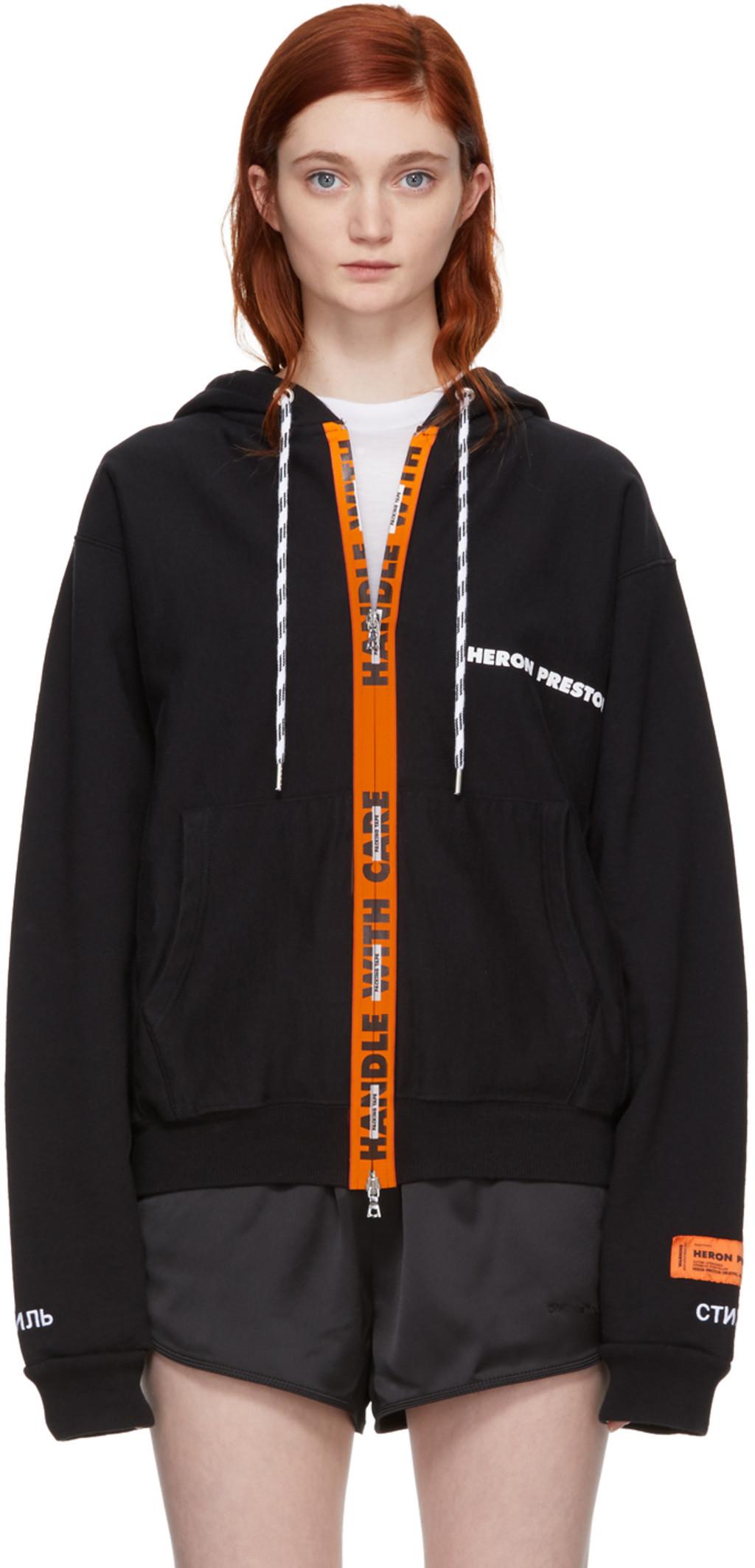 balenciaga hoodie womens orange