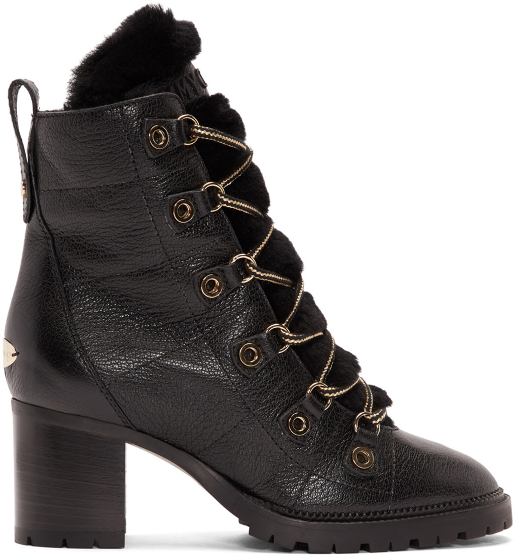 Black Hillary 65 Boots Jimmy Choo London