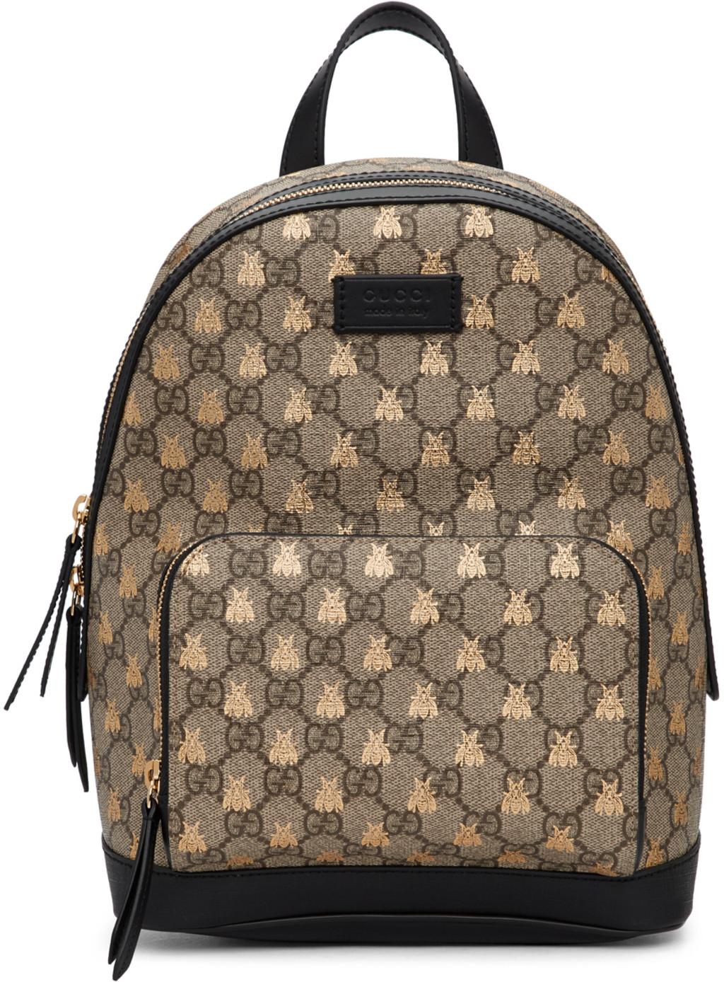 f2f1d5e521899 Gucci Brown and Pink Medium GG Supreme Dionysus Bag Guccihandbags