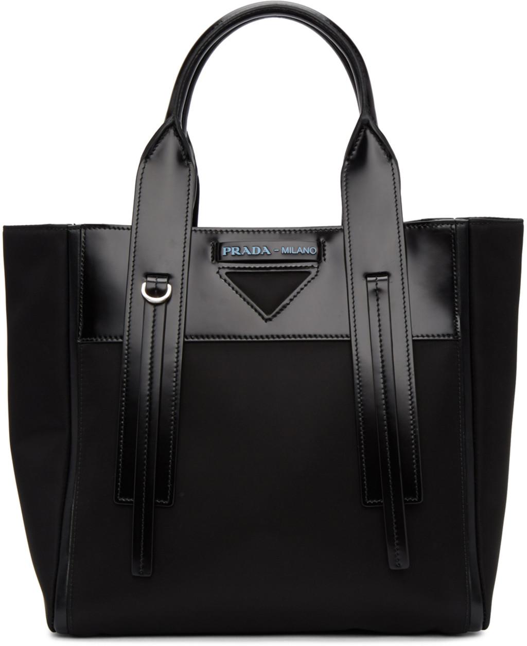 Prada tote bags for Women   SSENSE 0464abc7aa38