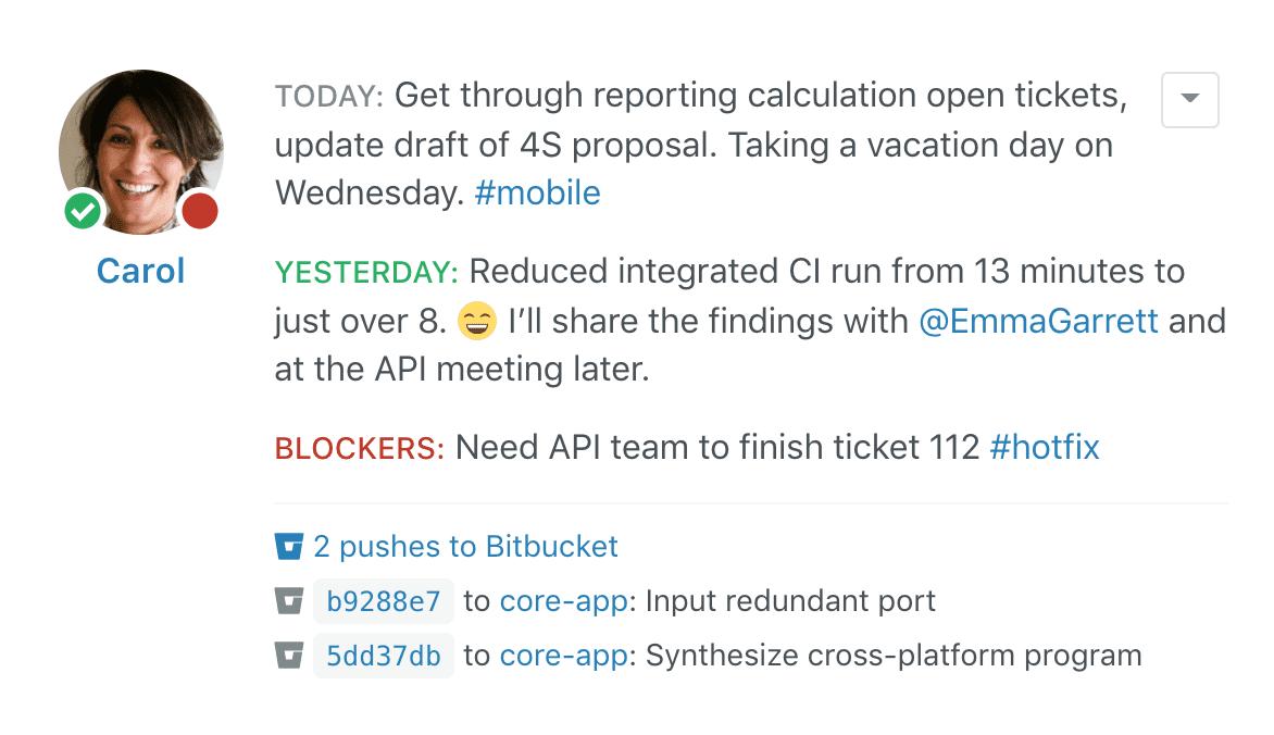Status Hero: Bitbucket Integration