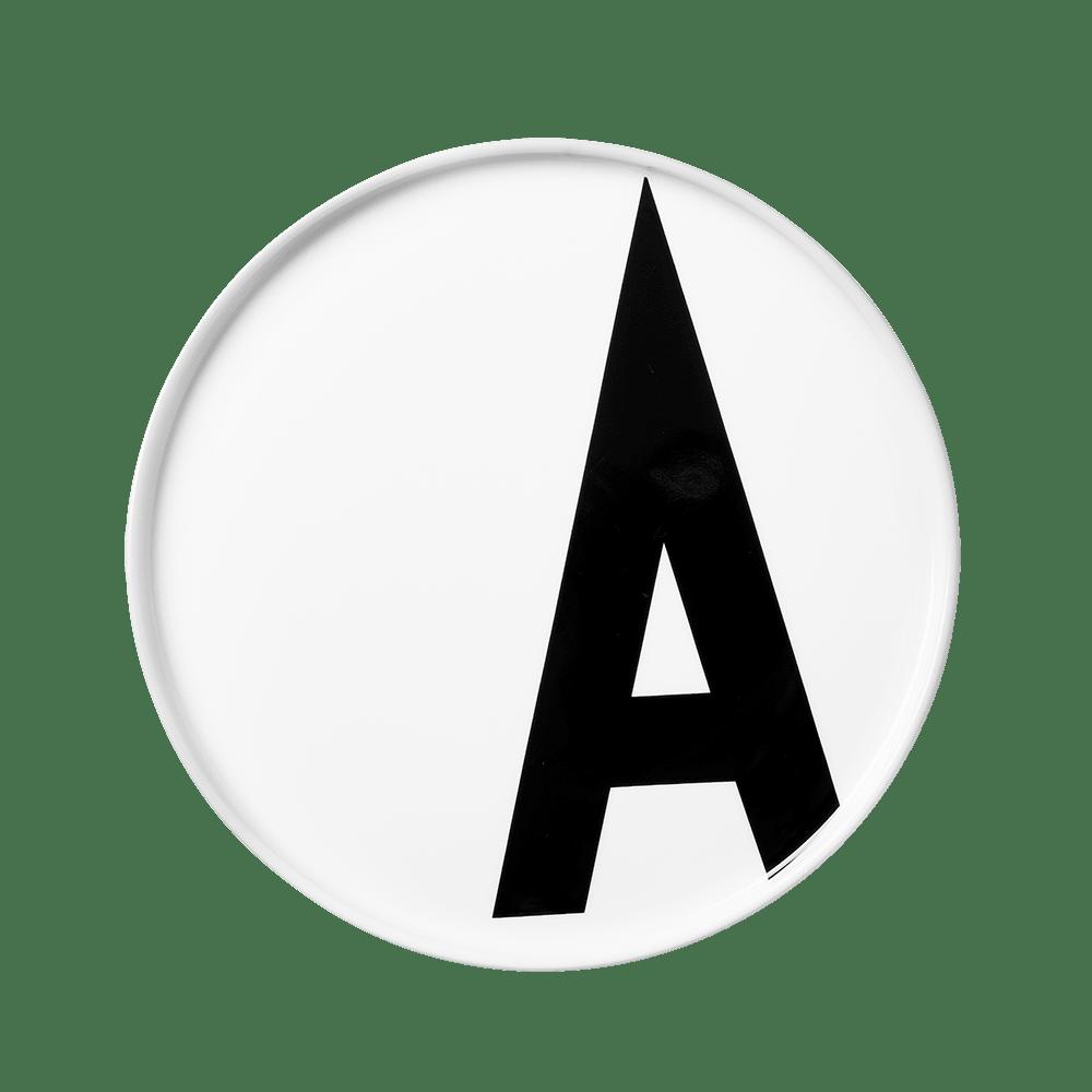 Design Letters Porcelain Plate