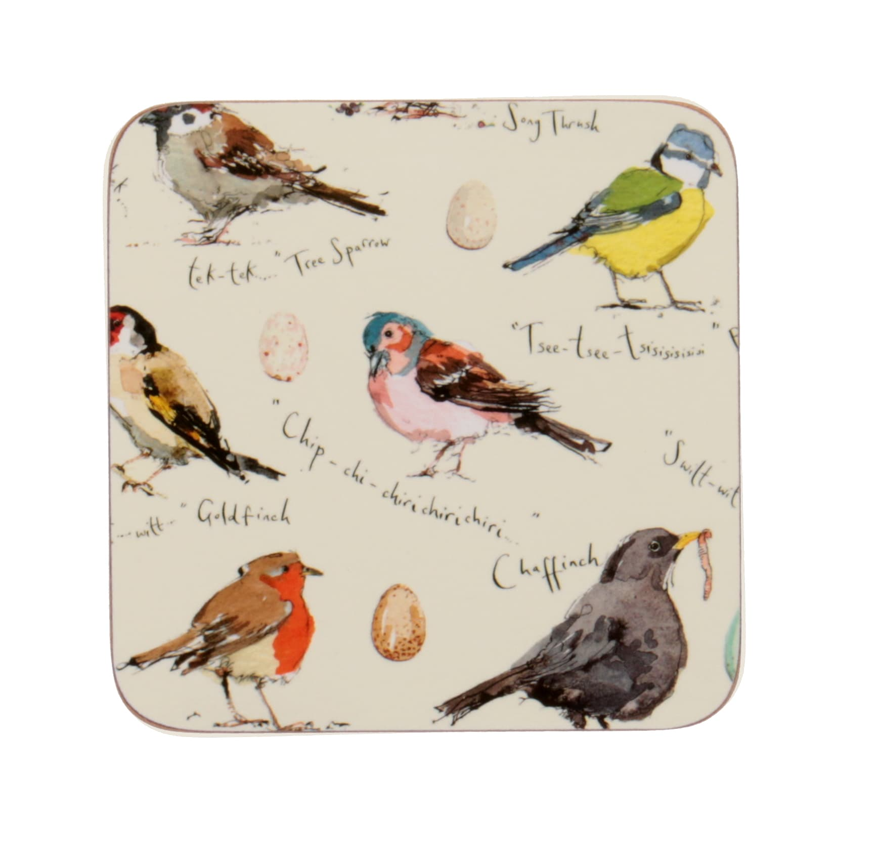 Ulster Weavers Birdsong Coasters (Pack of 4)