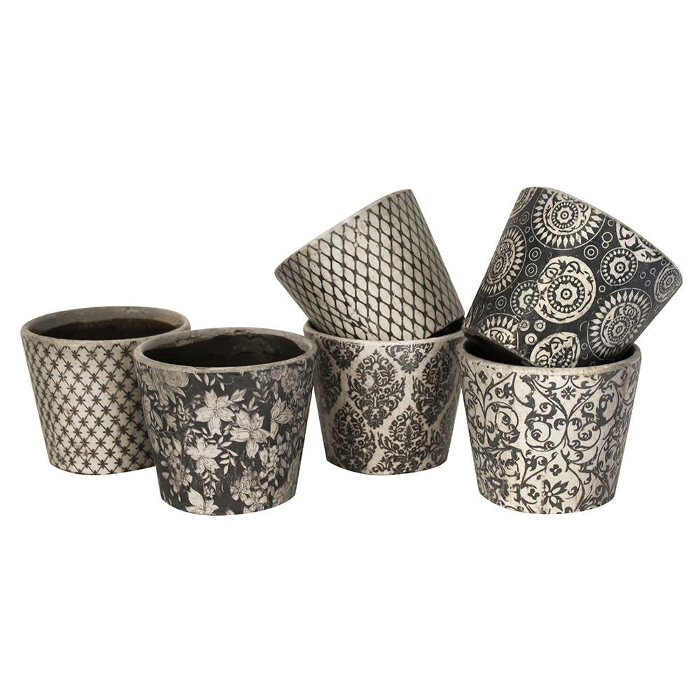 Grand Illusions Black Old Style Dutch Pot