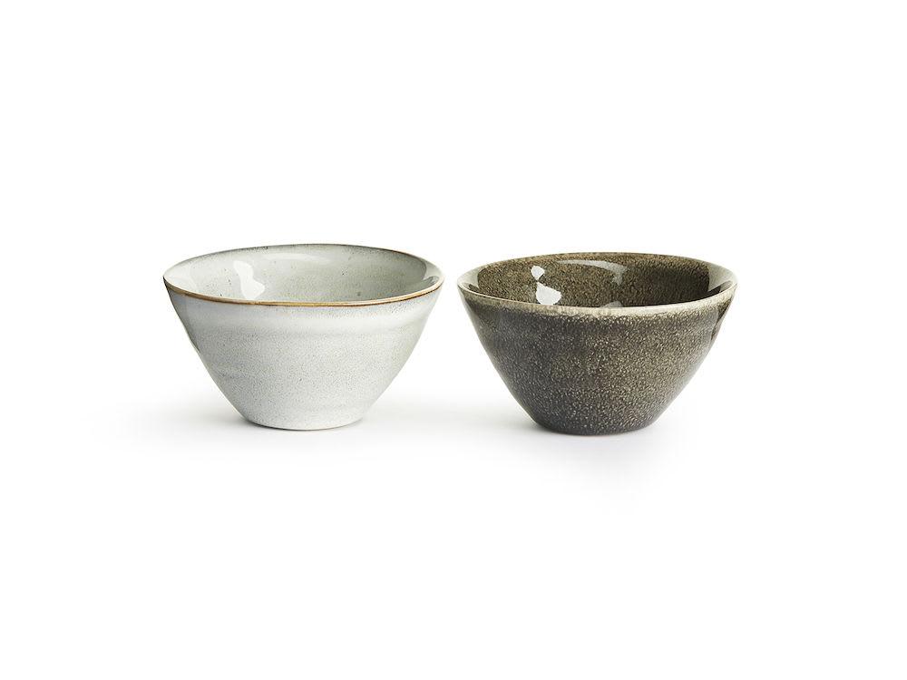 Sagaform Mini Set of 2 Nature Serving Bowl