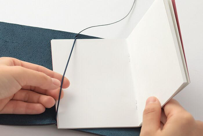 Traveler's Company Traveler's Notebook Blue Leather Passport Size