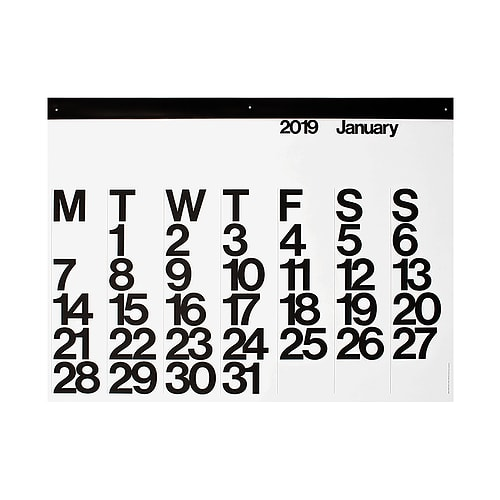 Stendig 2019 Calendar