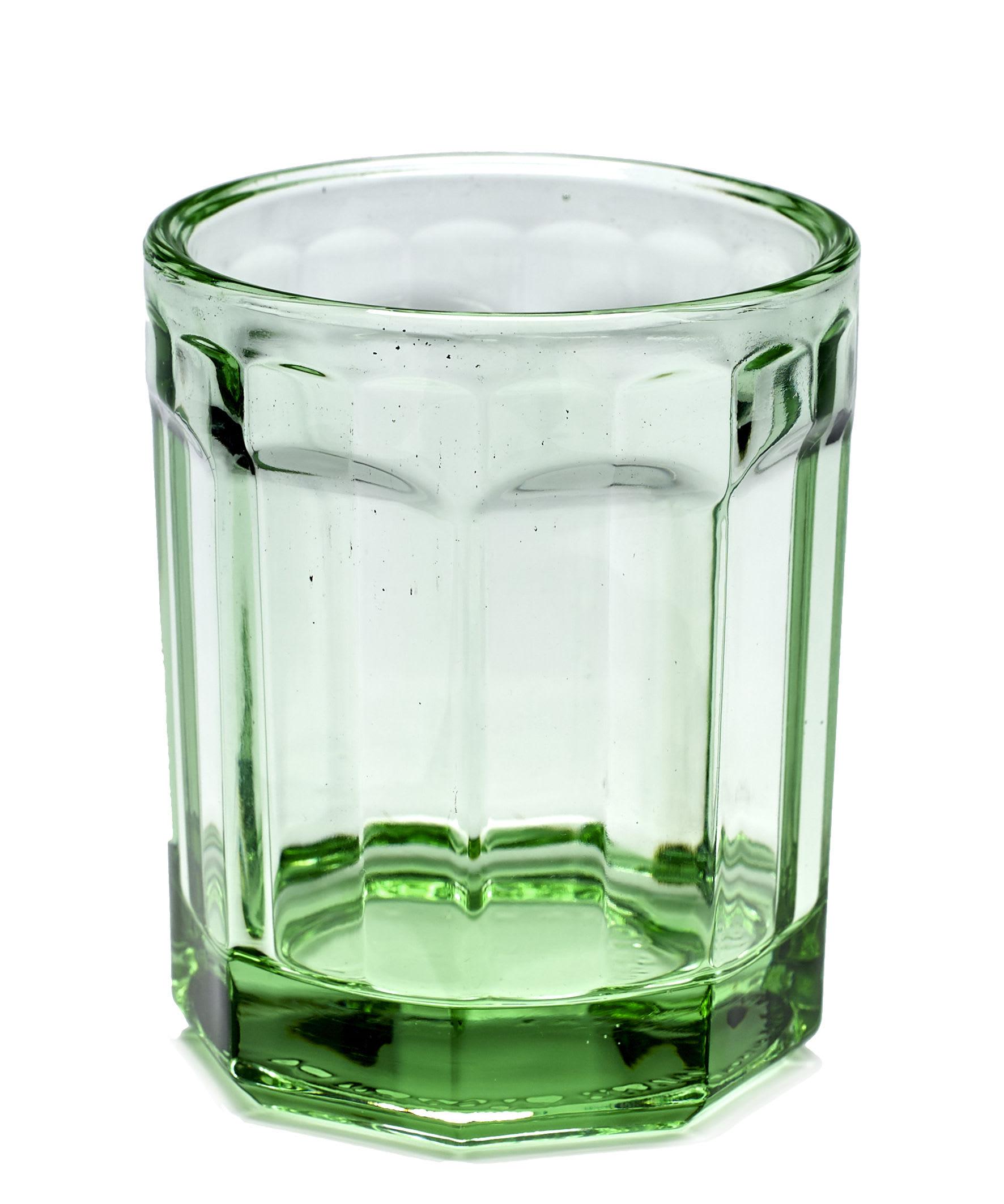 Serax Medium Green Glass Jar