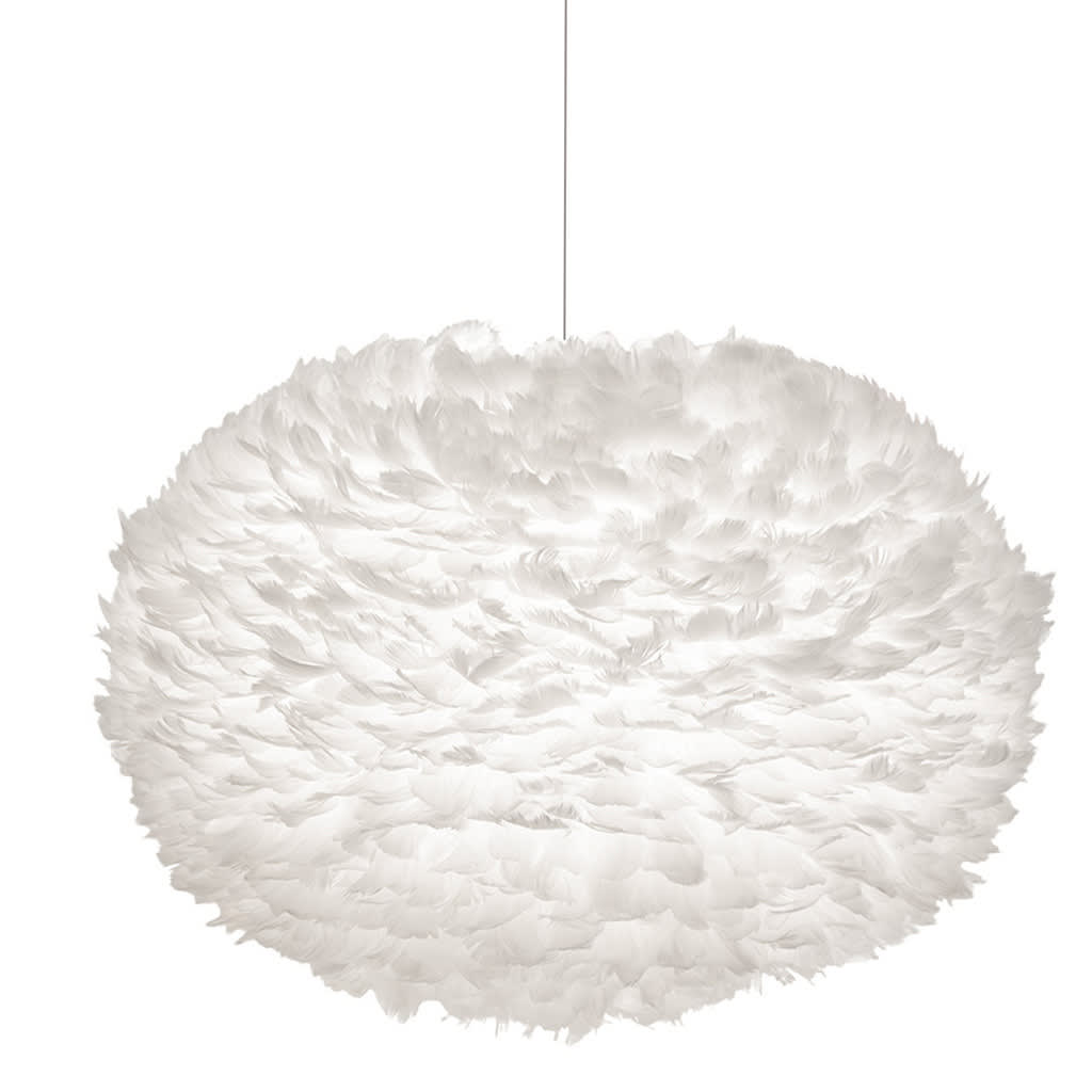 UMAGE Large EOS Feather Lampshade