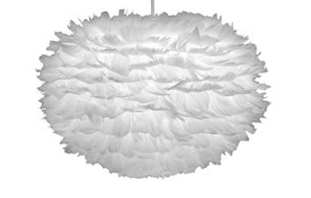UMAGE Medium EOS Feather Lampshade