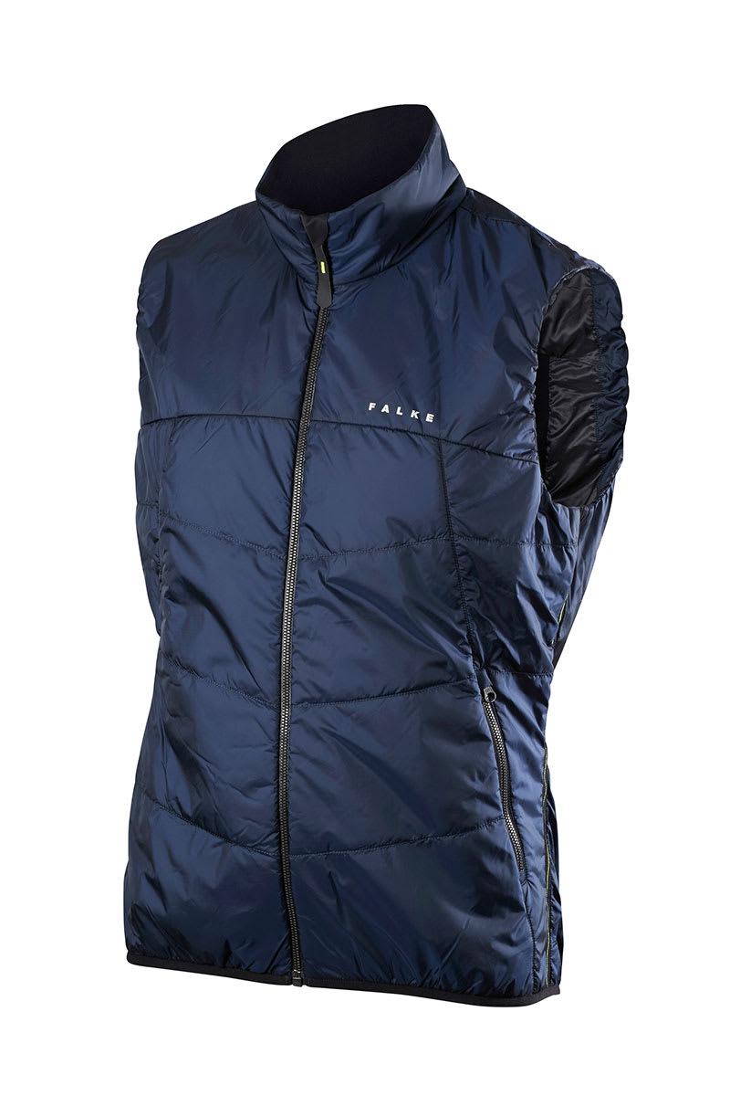51d873a499d Trouva  Men s Breathable Full Zip Vest In Space Blue