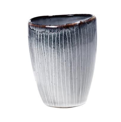 Broste Copenhagen Handmade Nordic Sea Handleless Mug