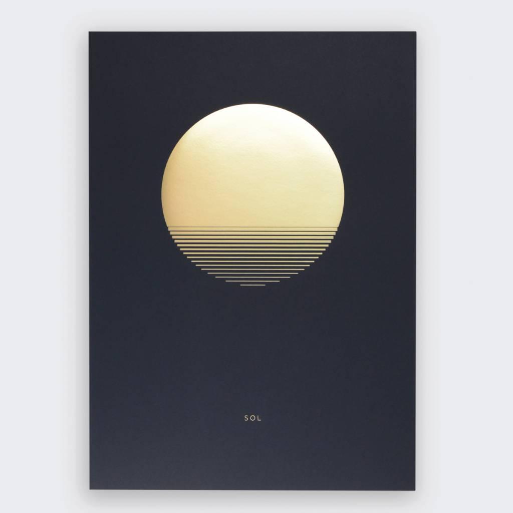 Tom Pigeon  Sol Dusk A3 Print