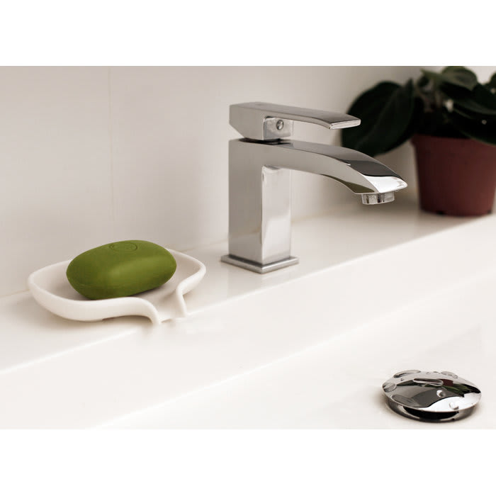 Bosign Soap Saver Flow Silicon Soap Dish Large Size in White