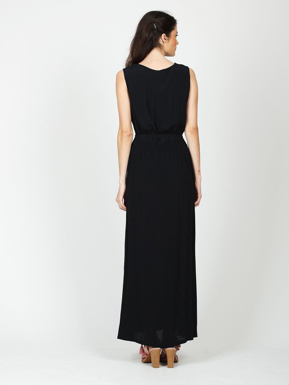 Indi & Cold Black Long Dress