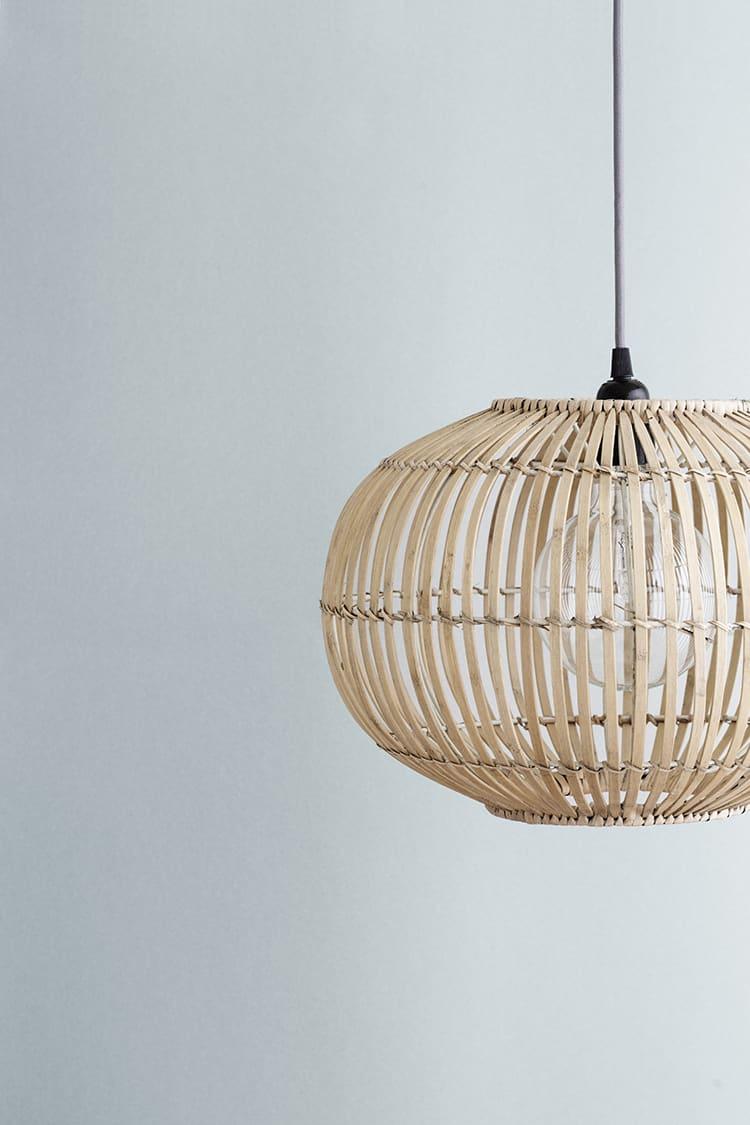 Broste Copenhagen Large Zep Bamboo Pendant Lampshade