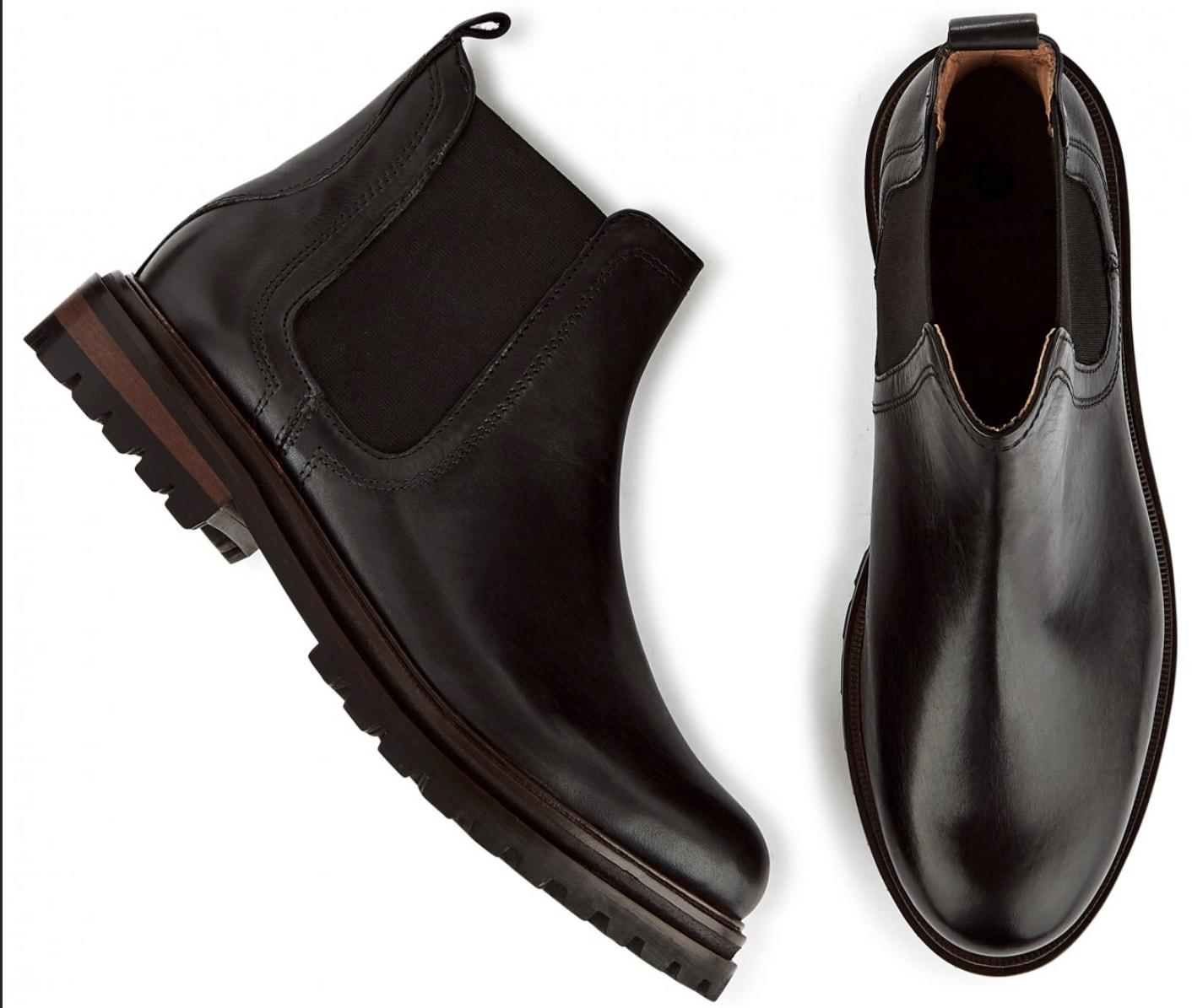 Hudson Shoes Wisty Black Boot
